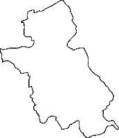 熊本県球磨郡錦町(にしきまち)の白地図無料ダウンロード
