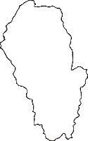 熊本県球磨郡山江村(やまえむら)の白地図無料ダウンロード
