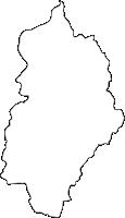 熊本県球磨郡球磨村(くまむら)の白地図無料ダウンロード