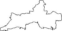 大分県速見郡日出町(ひじまち)の白地図無料ダウンロード