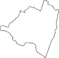 宮崎県児湯郡高鍋町(たかなべちょう)の白地図無料ダウンロード