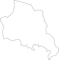 宮崎県東臼杵郡諸塚村(もろつかそん)の白地図無料ダウンロード