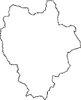 宮崎県東臼杵郡椎葉村(しいばそん)の白地図無料ダウンロード