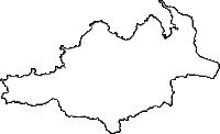 鹿児島県大島郡大和村(やまとそん)の白地図無料ダウンロード