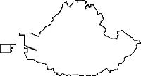 沖縄県浦添市(うらそえし)の白地図無料ダウンロード