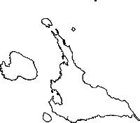 沖縄県宮古島市(みやこじまし)の白地図無料ダウンロード