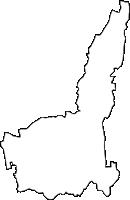 沖縄県中頭郡嘉手納町(かでなちょう)の白地図無料ダウンロード