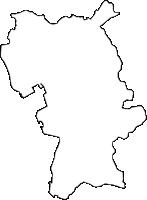 沖縄県中頭郡北谷町(ちゃたんちょう)の白地図無料ダウンロード